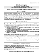 Before and After Resume Sample: Entry-Level